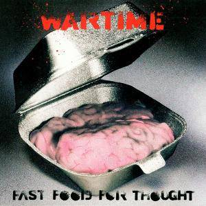 Wartime: Fast Food For Thought - Cover