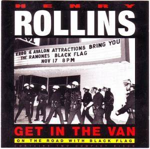 Cover - Henry Rollins: Get In The Van