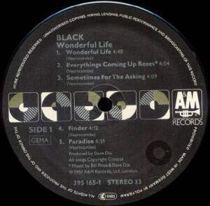 Black: Wonderful Life (LP) - Bild 5