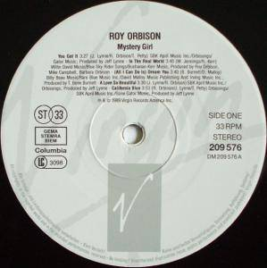 Roy Orbison: Mystery Girl (LP) - Bild 3