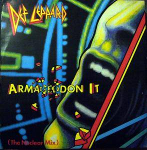 Def Leppard: Armageddon It - Cover