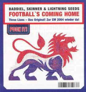 Cover - Baddiel, Skinner & Lightning Seeds: Football's Coming Home - Three Lions 2004