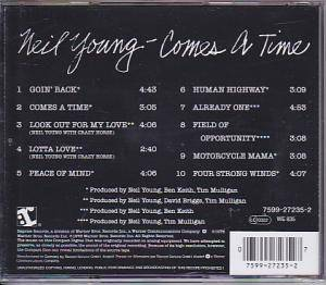 Neil Young: Comes A Time (CD) - Bild 2