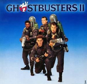 Ghostbusters II - Cover