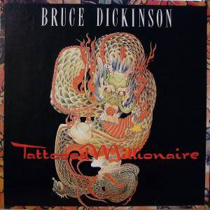 Bruce Dickinson: Tattooed Millionaire - Cover