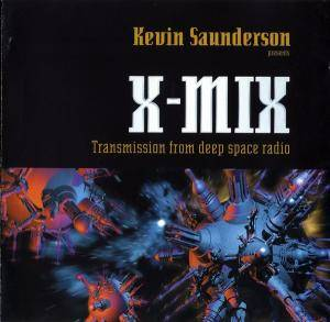 Cover - Dark Comedy: X-MIX - Transmission From Deep Space Radio (Mix By Kevin Saunderson)