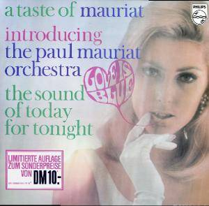 Cover - Paul Mauriat: Taste Of Paul Mauriat, A