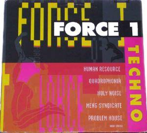 Cover - Holy Noise Feat. The Global Insert Project: Force 1: Techno