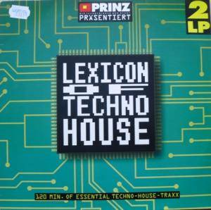 Lexicon Of Techno House - Cover