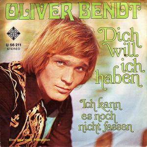 Cover - Oliver Bendt: Dich Will Ich Haben