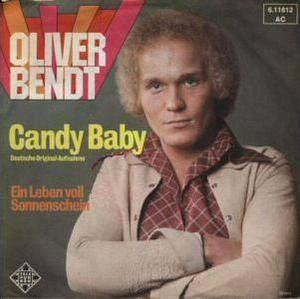Cover - Oliver Bendt: Candy Baby