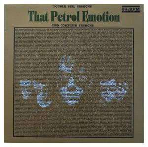 Cover - That Petrol Emotion: Peel Sessions, The