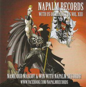 Cover - Thulcandra: Napalm Records - With Us Or Against Us Vol. XIII