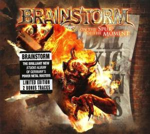 Brainstorm: On The Spur Of The Moment (CD) - Bild 1