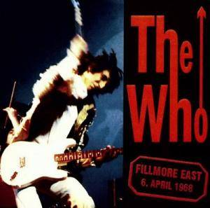 The Who: Live At Fillmore East - Cover