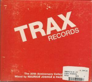 Cover - Z Factor Feat. Screamin' Rachael: Trax Records: The 20th Anniversary Collection