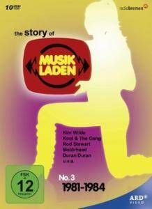 Cover - Joce And The Kazoo Band: Story Of Musikladen No. 3 1981-1984, The
