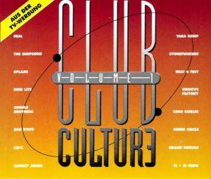 Club Culture Volume 1 - Cover