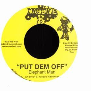 Cover - Elephant Man: Put Dem Off / Bang Bang
