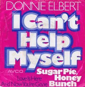 Cover - Donnie Elbert: I Can't Help Myself