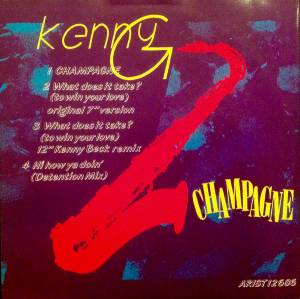 Kenny G: Champagne - Cover