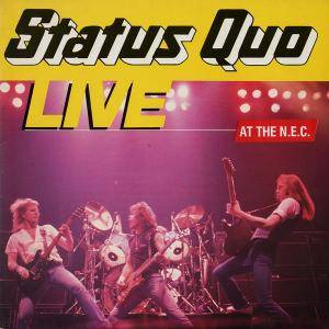Status Quo: Live At The N.E.C. - Cover