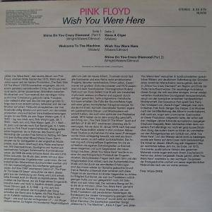 Pink Floyd: Wish You Were Here (LP) - Bild 2