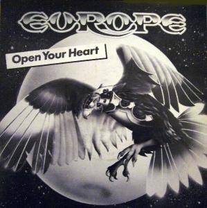 Europe: Open Your Heart - Cover