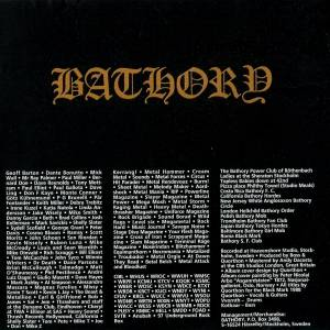 Bathory: Blood Fire Death (CD) - Bild 6
