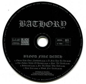 Bathory: Blood Fire Death (CD) - Bild 7