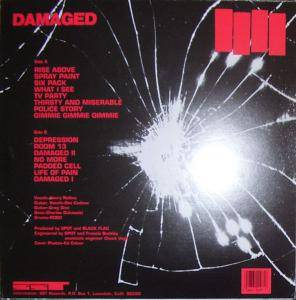Black Flag: Damaged (LP) - Bild 2