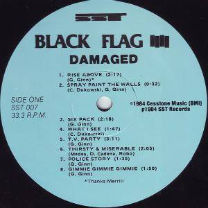 Black Flag: Damaged (LP) - Bild 3