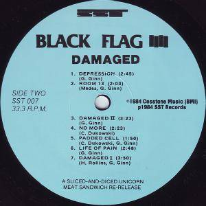 Black Flag: Damaged (LP) - Bild 4