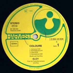 Eloy: Colours (LP) - Bild 3