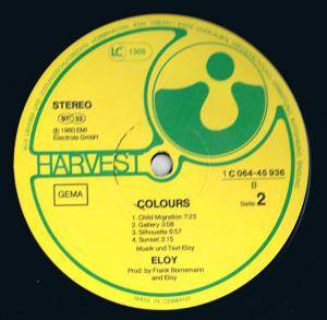 Eloy: Colours (LP) - Bild 4