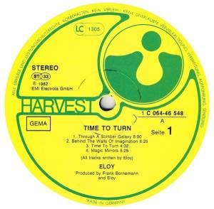 Eloy: Time To Turn (LP) - Bild 6