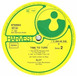 Eloy: Time To Turn (LP) - Bild 7