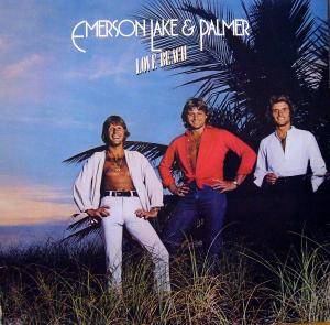 Emerson, Lake & Palmer: Love Beach - Cover