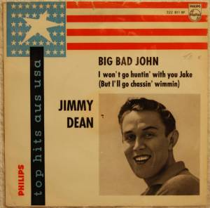 Cover - Jimmy Dean: Big Bad John