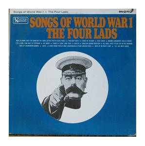 Cover - Four Lads, The: Songs Of World War 1