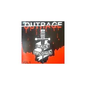Cover - Deltas, The: Outrage Vol.1