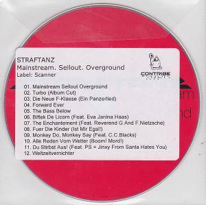 Straftanz: Mainstream. Sellout. Overground - Cover
