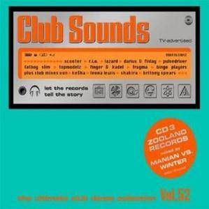 Cover - Manian: Club Sounds Vol. 52