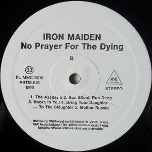 Iron Maiden: No Prayer For The Dying (LP) - Bild 5