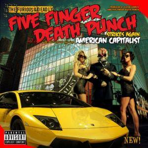 Five Finger Death Punch: American Capitalist - Cover