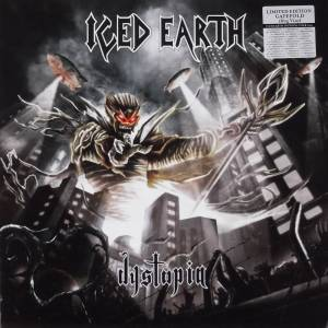 Iced Earth: Dystopia - Cover