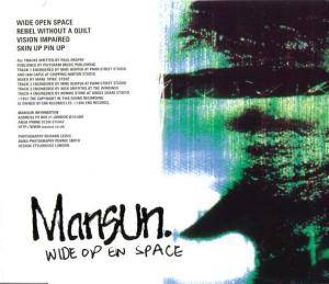 Cover - Mansun: Wide Open Space