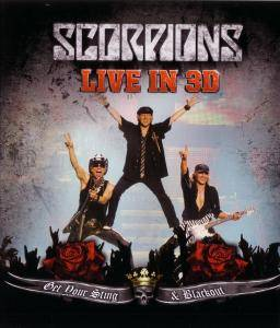 Scorpions: Live In 3D - Get Your Sting & Blackout - Cover