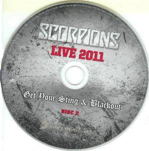 Scorpions: Live 2011 - Get Your Sting And Blackout (2-CD) - Bild 6