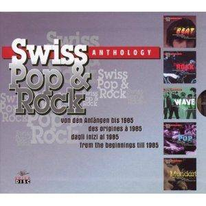 Swiss Pop & Rock Anthology - Cover